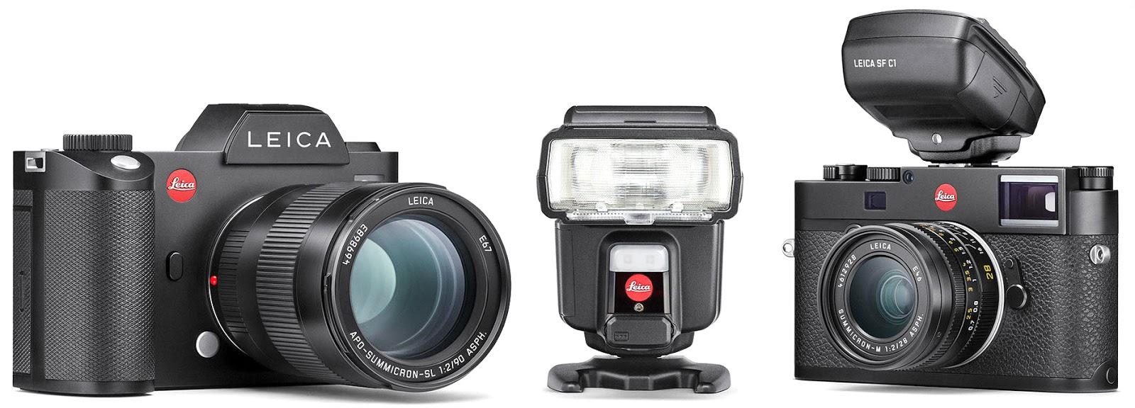 Камеры, вспышка и синхронизатор Leica