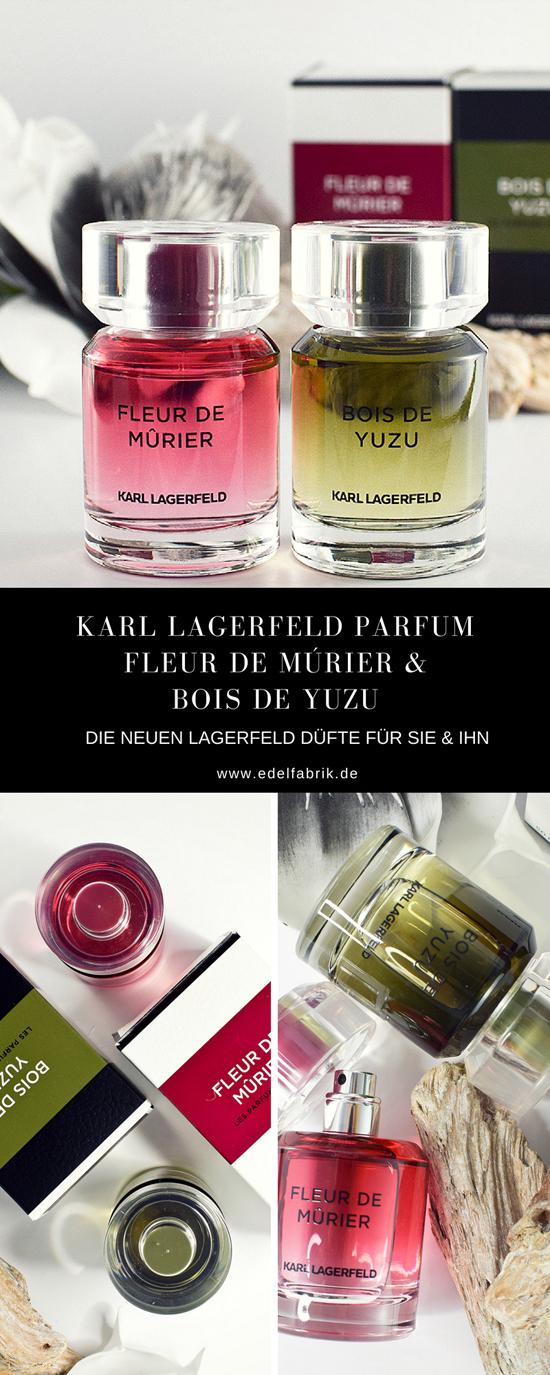 Karl Lagerfeld, Parfums, Fleur de Mùrier, Bois de Yuzu, Frauenduft, Herrenduft