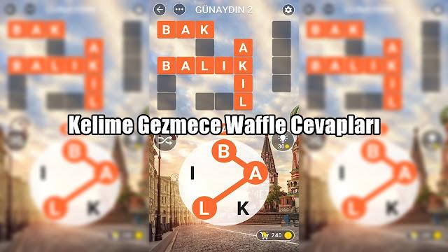 Kelime-Gezmece-Waffle-Cevaplar