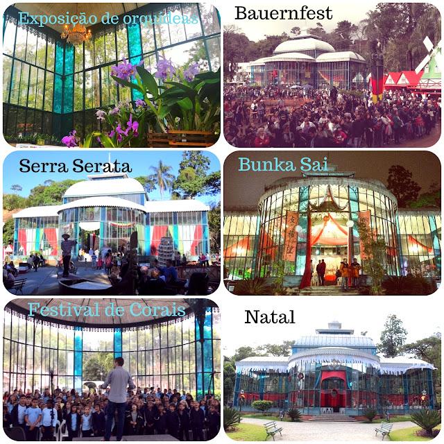 Eventos no Palácio de Cristal de Petrópolis