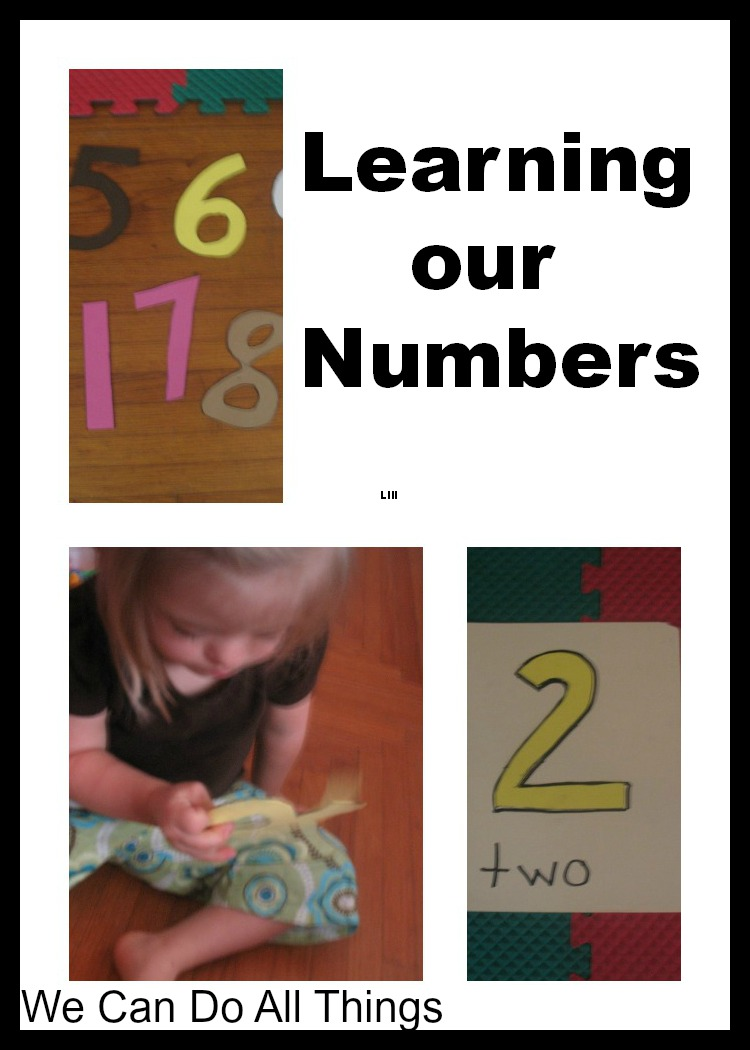 We Can Do All Things: Learning Our Numbers