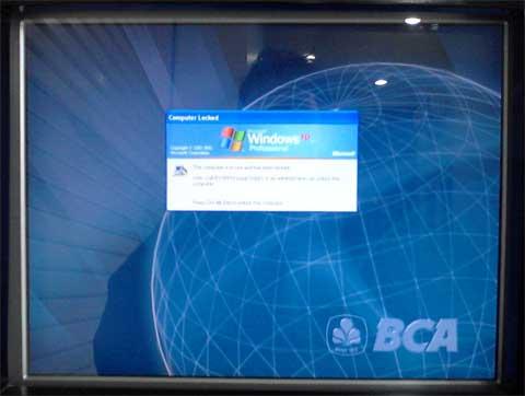 ATM BCA windows XP