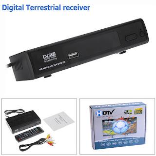 DECODER BOX RICEVITORE DVB-T2 HDMI