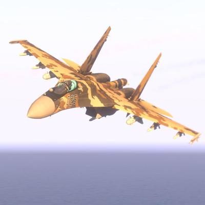 arma3 su-35s フランカー E アドオン