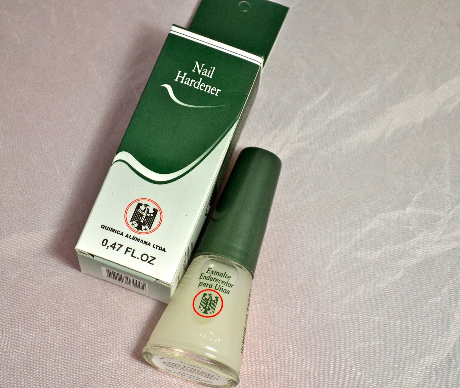 Endurecedor de uñas QUIMICA ALEMANA - ObeBlog | Diario de Belleza