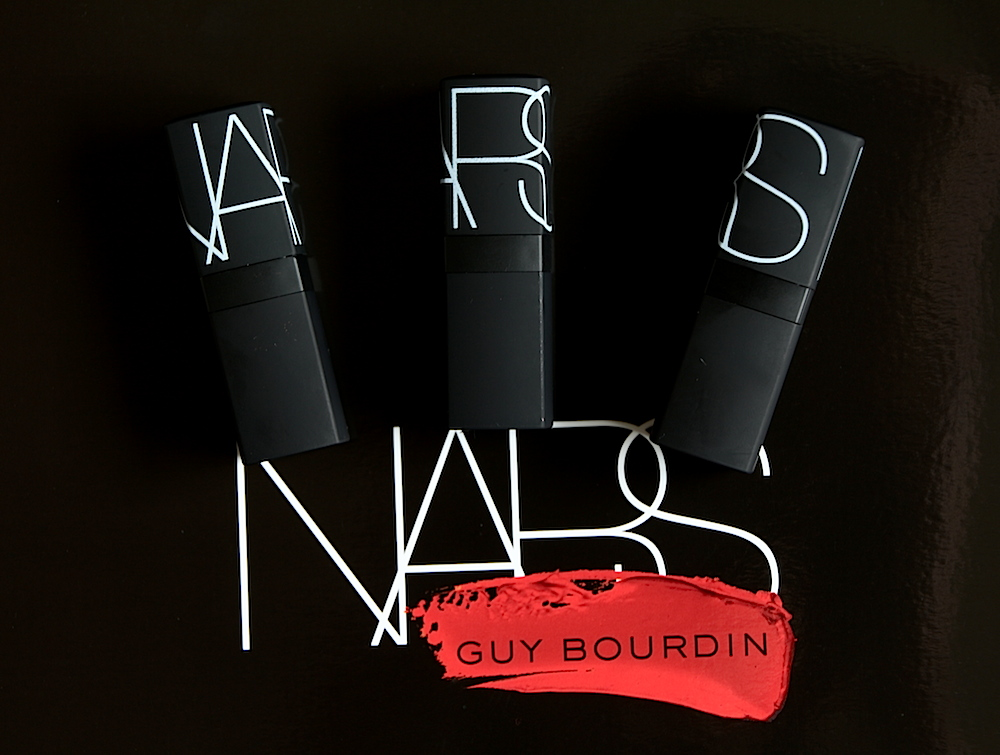 nars collection guy bourdin rouge à lèvres avis test swatch