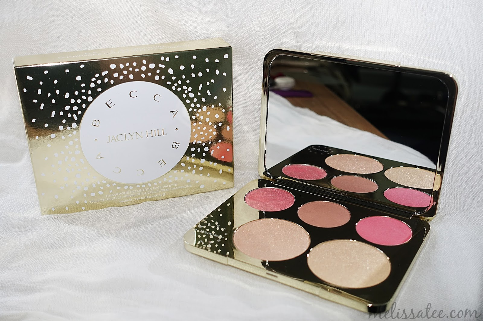 The Blushing Introvert: Becca x Jacyln Hill Champagne Collection ...
