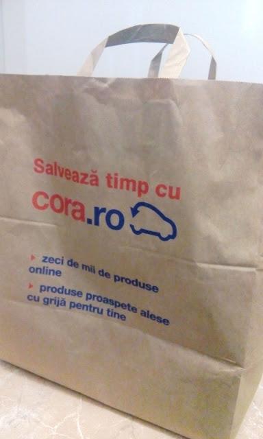 sacosa cumparaturi hipermarket cora online
