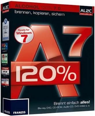 Download Alcohol 120% 2.0 Final + Ativação