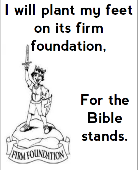 Random Issues New Visualized Hymns The Bible Stands And My Jesus I