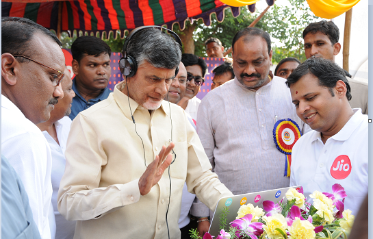 AP CM interacting with old friends using JIONET