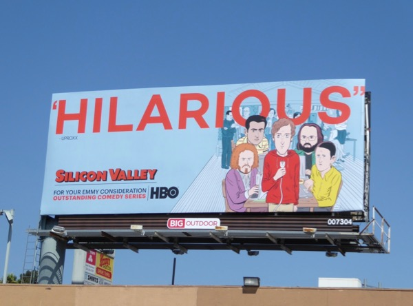 Silicon Valley 2017 Emmy noms billboard