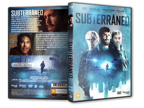 Capa DVD Subterrâneo
