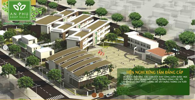 Hệ thống trường học liên cấp Quốc tế tại An Phú Shop Villa