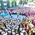 Wagub Sulut Hadiri Olah Raga Bersama TNI/Polri Di Lapangan Sepak Bola TNI AL Kalama Manado