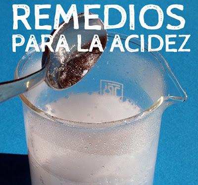 acidez y el bicarbonato