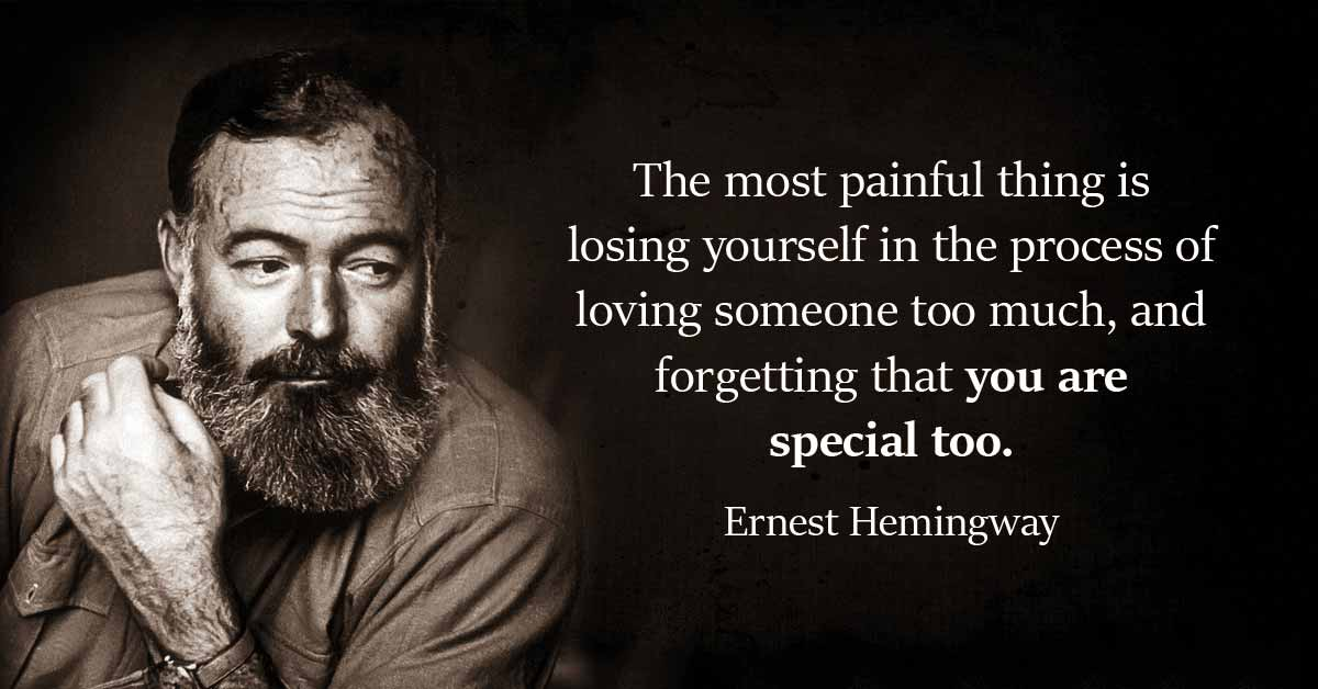 15 Life-Changing Quotes By Ernest Hemingway