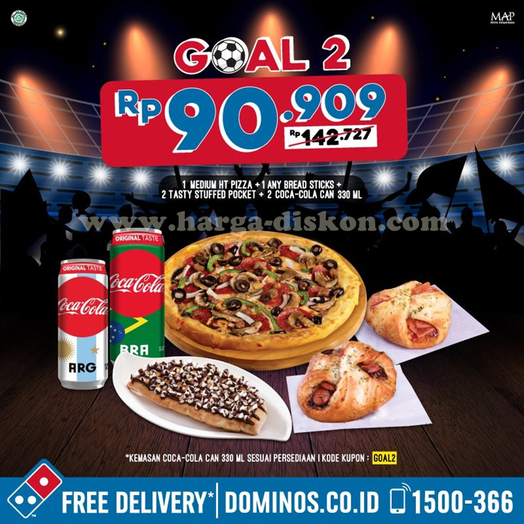 Promo Dominos Pizza Paket Goal Harga Mulai Rp59 091 News And Talking
