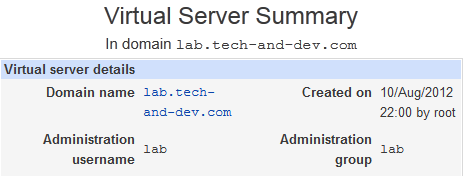 lab tech and dev