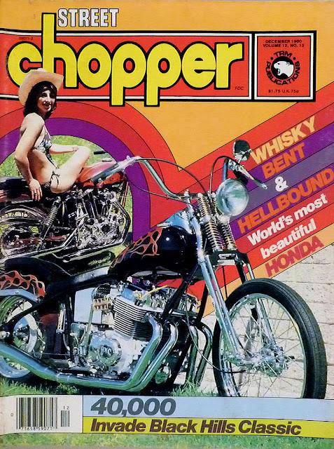Vintage Biker Magazine Covers Vintage Everyday