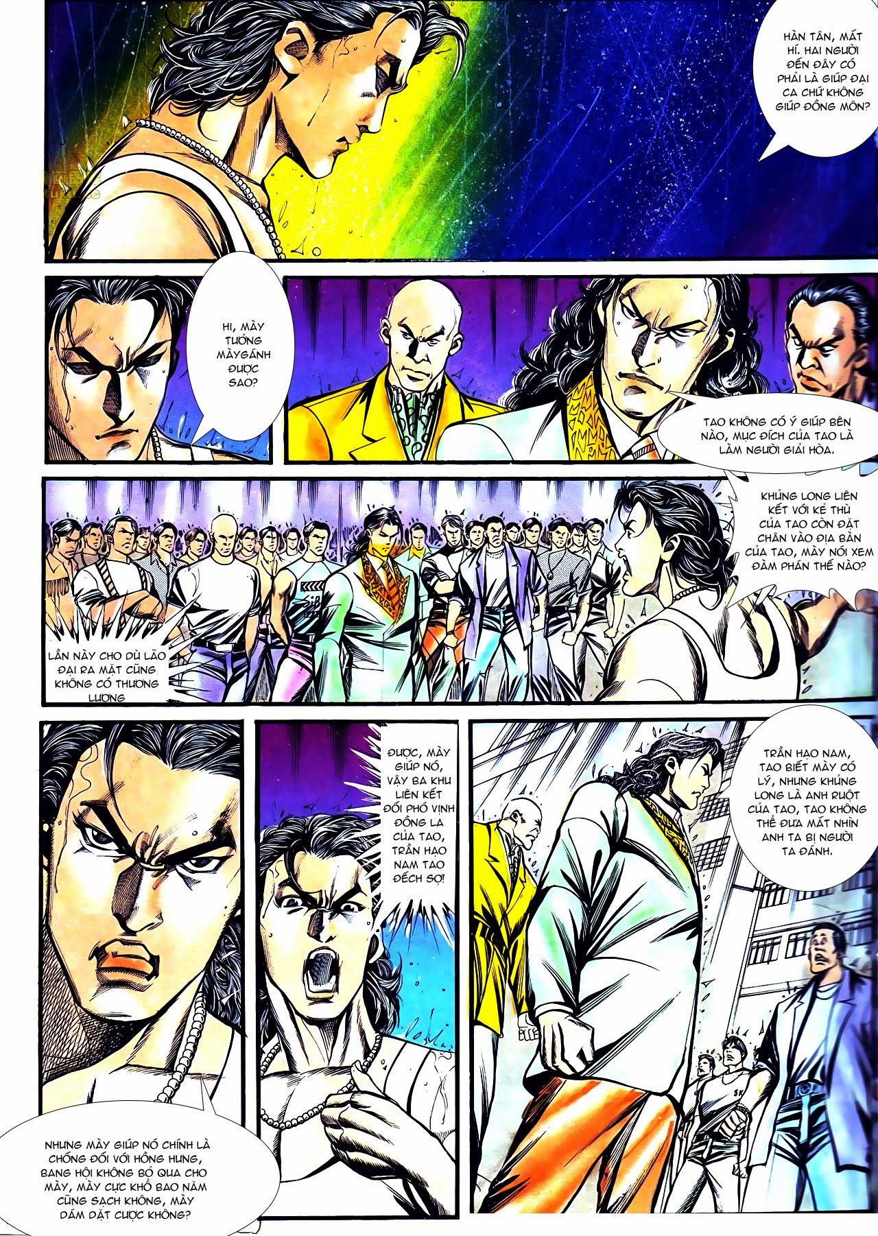 Người Trong Giang Hồ chapter 126: bá chủ trang 8