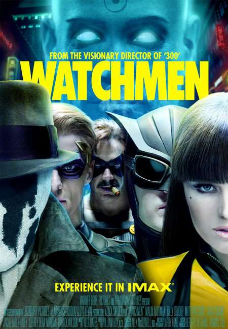 Watchmen (2009) Dual Audio Hindi 550MB BluRay 480p x264 ESubs 1