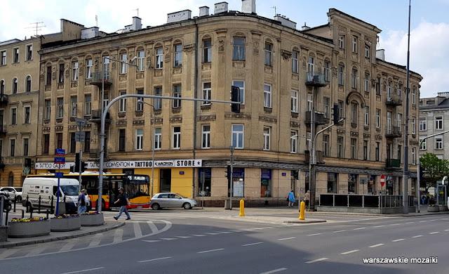 Warszawa Warsaw kamienica architektura secesja Praga Północ klatka schodowa