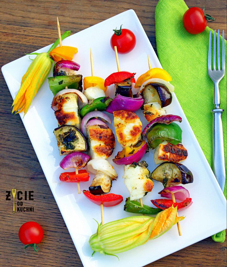 szaszlyki wegetarianskie, szaszlyki, przepisy na grill, dania z grilla, najlepsze szaszlyki, grillujemy, halloumi, potrawy z grilla, co na grilla, robimy grilla, blog, zycie od kuchni