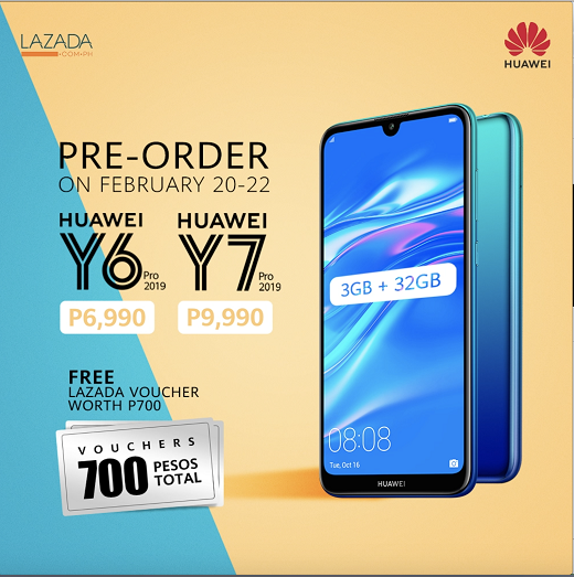 Huawei Y6 Pro 2019 Pre-order Philippines