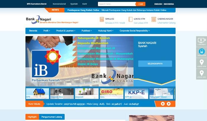 Cara Daftar Internet Banking Bank Nagari