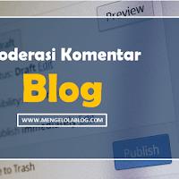 Cara moderasi komentar di Blogspot