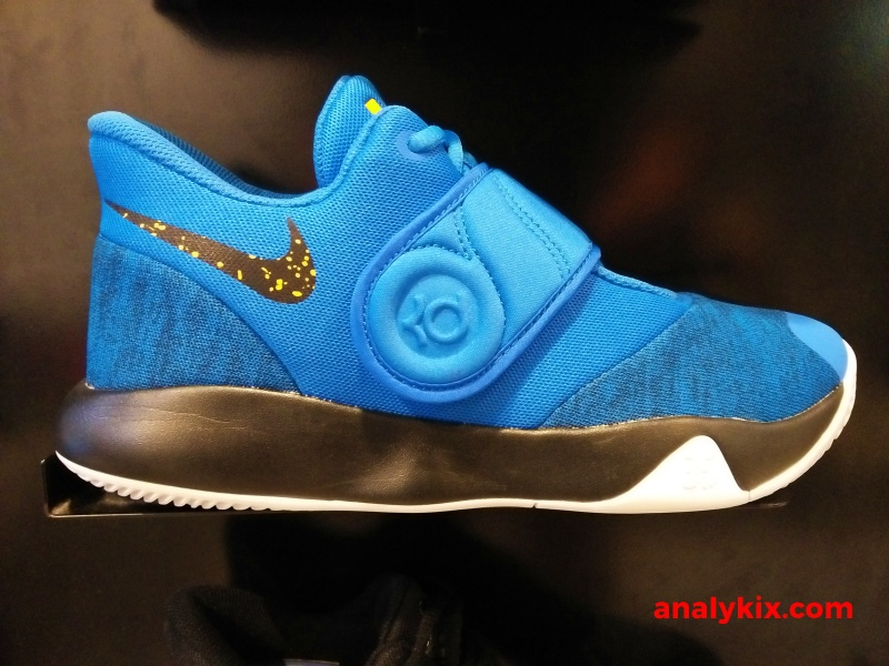 timeless design cd4ad 1624f Nike KD Trey 5 VI in Warriors theme   Analykix