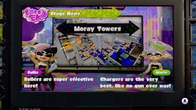 Marie Splatoon Chargers are the very best Moray Towers stage news favorite weapon