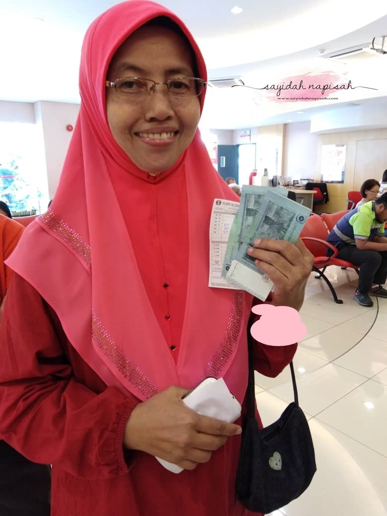 Tukar Duit Raya 2019 di Bank