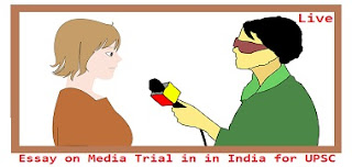 Essay on Media Trial in in India