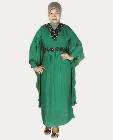 contoh model baju muslim bagi orang gemuk