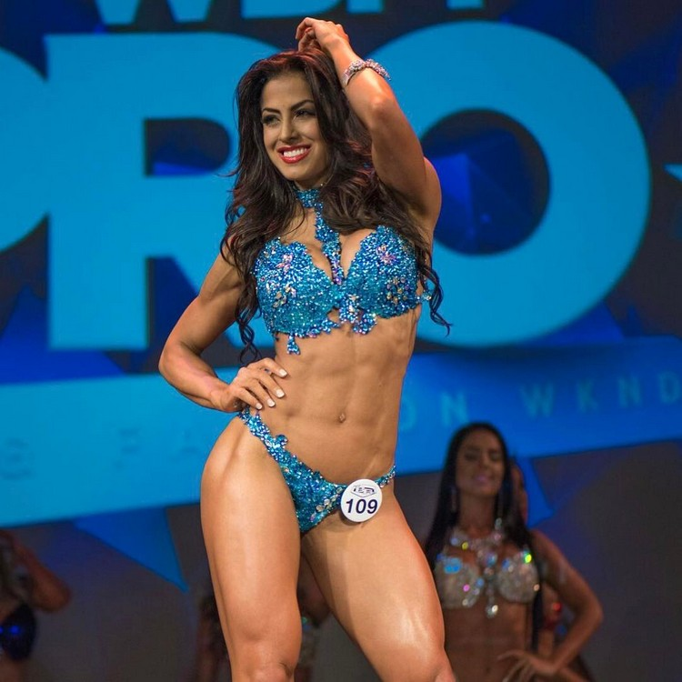 Cristina Silva WBFF Athlete
