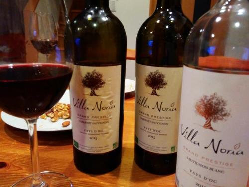 お店のワインフェスで出したペイドックのオーガニックワイン赤と白