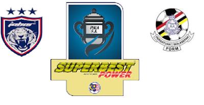 siaran langsung JDT Vs PDRM Piala FA 2016 Suku Akhir