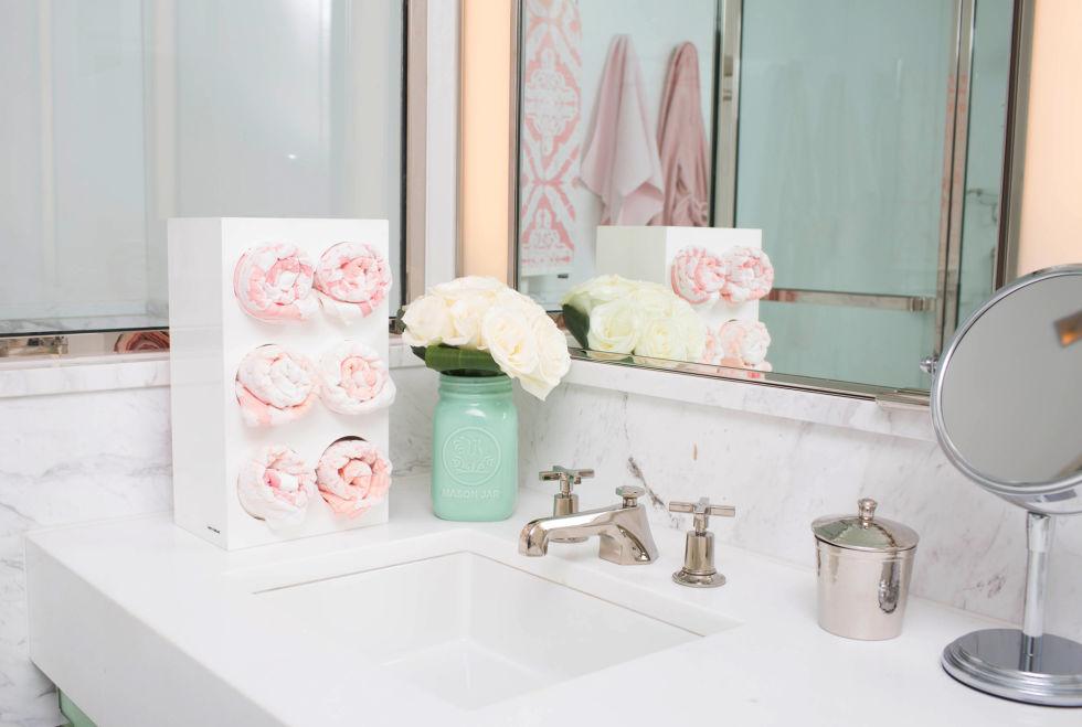 10 id es rangements ing nieuses pour une salle de bain. Black Bedroom Furniture Sets. Home Design Ideas