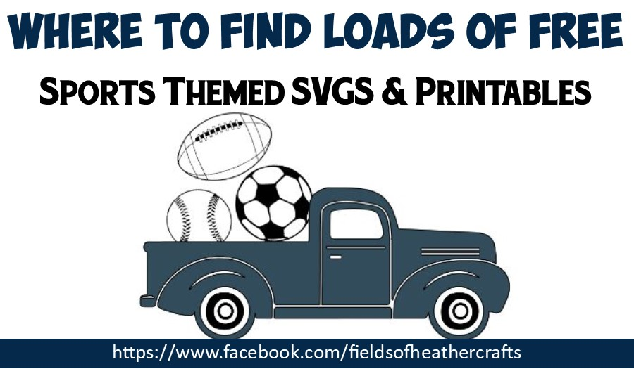Download Free Sports Themed Svg Files