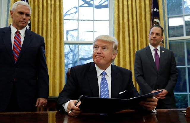 الاعلام الامريكى يطلب من الرئيس الأمريكى دونالد ترامب معاقبة قطر