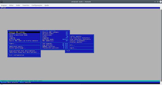IPTraf, monitore o tráfego de rede e de Internet em tempo real no Ubuntu/Debian/LinuxMint e derivados!