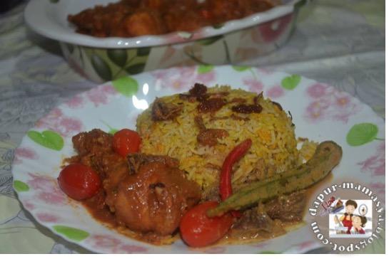 Ayam Masak Beriani Ganding Dg Nasi