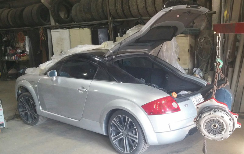Audi TT MK1 Electric Conversion