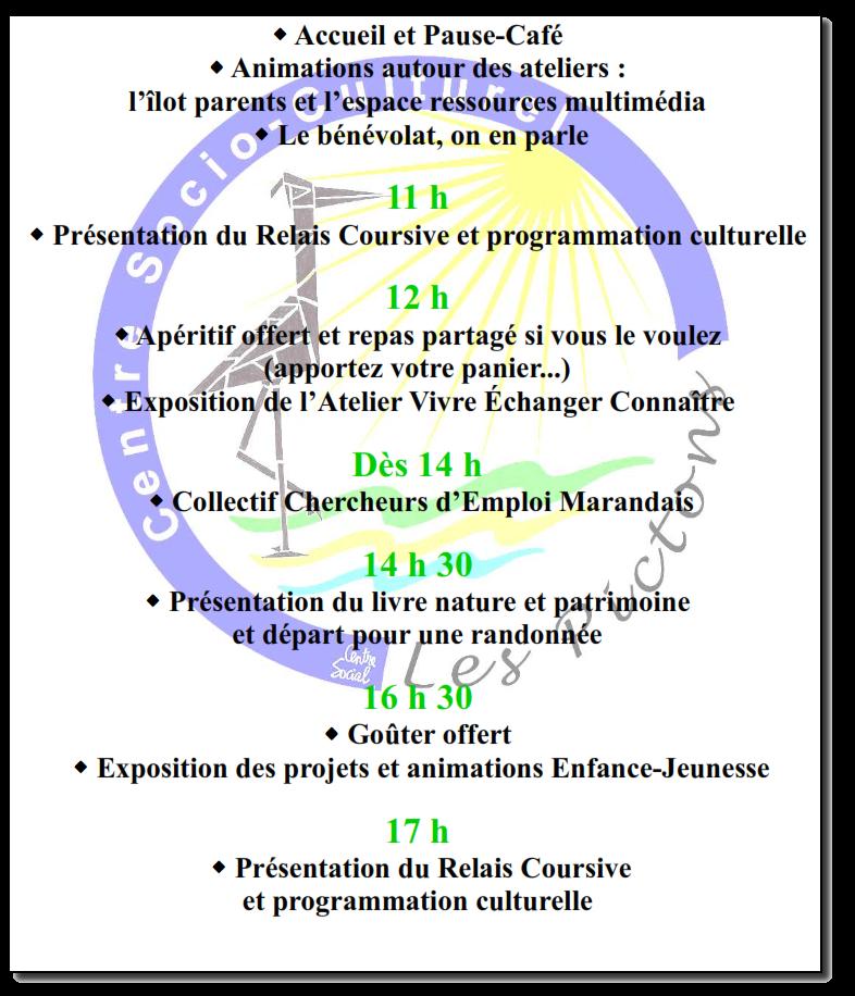 cv centre socio culturel
