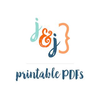 New Printable PDFs at jamieandjenn.com!