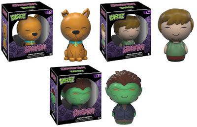 Scooby-Doo Dorbz Series 1 Vinyl Figures by Funko - Scooby, Shaggy & Werewolf