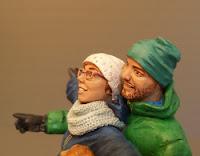statuine realistiche regalo marito fidanzato modellini personalizzati orme magiche