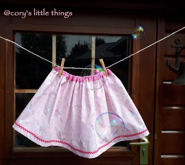 The magic Unicorns toddler skirt